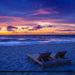 Beach Chairs at Deerfield by the Fishing Pier Broward County