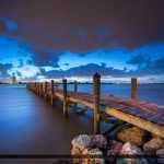 Fishing Pier at South Causeway Park Fort Pierce Florida