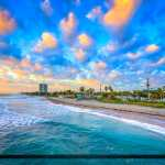 Dania Beach Florida Ocean and Beach