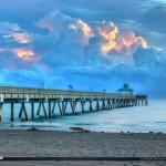 Before Sunrise at the Deerfield Beach Pier