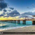 Sunny Isles Beach Newport Fishing Pier Florida