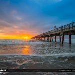 Jacksonville Beach Atlantic Ocean sunrise