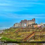 Jacksonville Beach condos along the beach