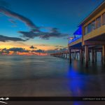 Dania Beach Fishing Pier Before the Sunrise