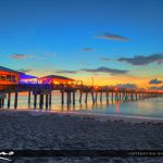 Dania Beach Fishing Pier Early Morning