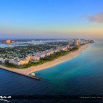 Palm Beach Inlet and Singer Island Condos Aeiral of Beach