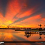 Deep Warm Colors Over Tradition Square Port St Lucie