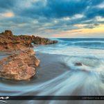 Beautiful Early Morning Ocean Beach Wave South Florida
