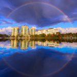 Rainbow Over Palm Beach Gardens Florida