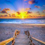 Christmas Eve Beach Sunrise from Jupiter Florida