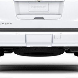 TRAILER HITCH CLOSEOUT, SUMMIT WHITE