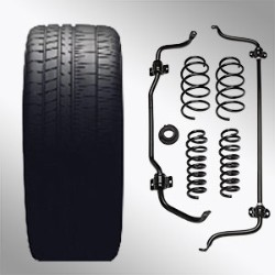 FRONT AND REAR SUSPENSION MODIFICATION KIT