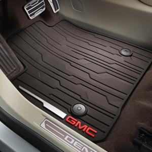 Floor Mats, All Weather, Second Row