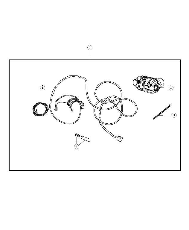 Mopar 56055632AC Wiring Kit, Trailer Tow - Connector, 7 Way