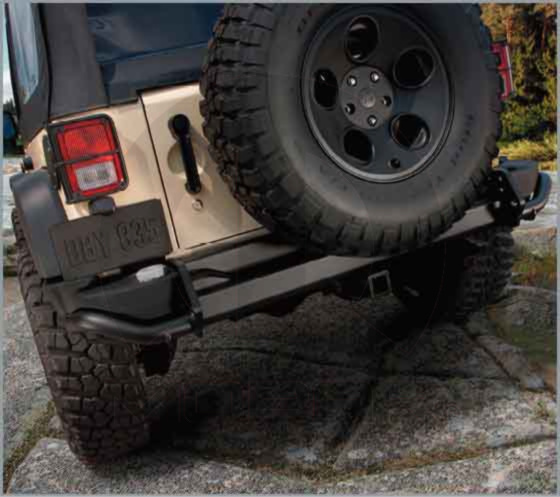 2007-2015 Jeep Wrangler MOAB MW3 COD 3 REAR OFF-ROAD BUMPER MOPAR GENUINE