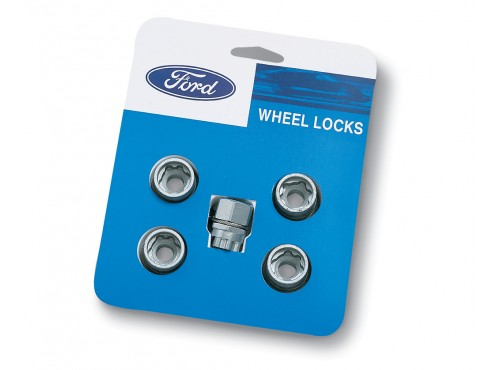 Wheel Locks - Zinc-Plated For Hidden Lugs