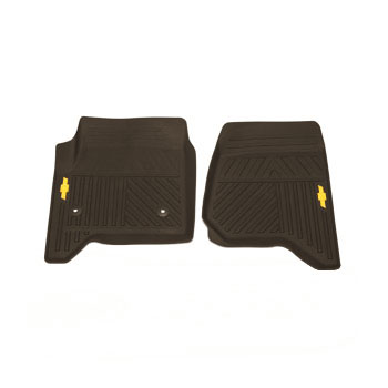 2016 Chevrolet Silverado 1500 LT Floor Mats, All Weather, Front