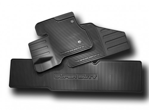 Floor Mats, AllWeather Thermoplastic Rubber  Genuine Ford  DC3Z