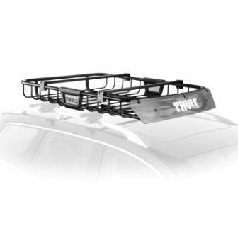Roof-Mounted Luggage Basket
