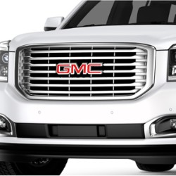 FRONT GRILLE WITH CHROME INSERTS