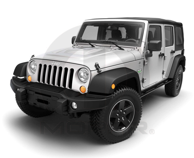 2007-2015 Jeep Wrangler Call Of Duty COD MOAB Front Bumper Kit MOPAR GENUINE OEM