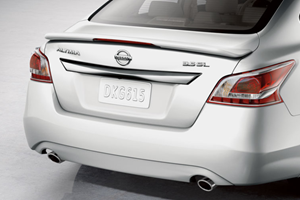 REAR SPOILER K23 - SILVER - BRILLIANT SILVER