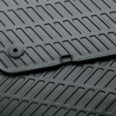 European Style Rubber Floor Mats, Rear