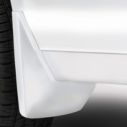 SPLASH GUARDS - REAR MOLDED, SUMMIT WHITE
