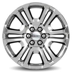CHEVROLET SILVERADO 1500  22 Wheel, 6-Split-Spoke, Chrome