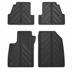 FRONT AND REAR PREMIUM ALL WEATHER FLOOR MATS