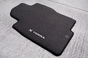 CARPETED FLOOR MATS CHARCOAL