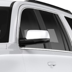 OUTSIDE REAR VIEW MIRROR COVER - CHROME