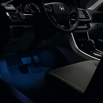 2013 Honda ACCORD SEDAN LX INTERIOR ILLUMINATION, BLUE - (08E10T2A100A)
