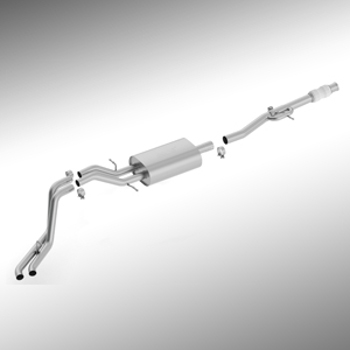 Cat Back Exhaust System, 6.2L Dual Side Exit