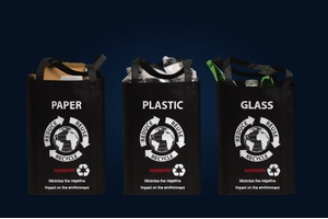 REUSEABLE RECYCLING BAGS SHOPPING BAGS