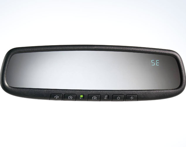 Auto-Dimming Mirror W/ Homelink And Compass