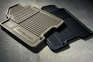 All Season Floor Mats (Black, Front Row