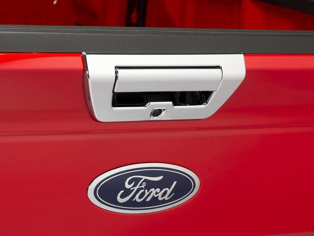 Tailgate Latch Trim, Chrome, Handle And Bezel