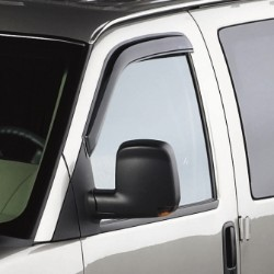 Air Deflectors, Front Windows