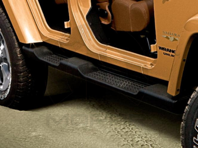 JEEP WRANGLER UNLIMITED SIDE STEPS - FACTORY STYLE