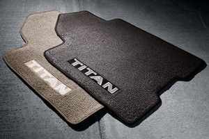 CARPETED FLOOR MATS BLACK (4-PC SET)