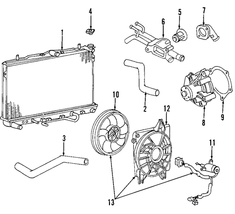 Watch likewise 1997 Honda Odyssey Horn Circuit Diagram furthermore 2010 Dodge Avenger Parts Diagram together with Jeep Wrangler Fender Diagram likewise Chevy 2 2l Engine Wire Harness Diagram. on 2010 toyota corolla wiring harness