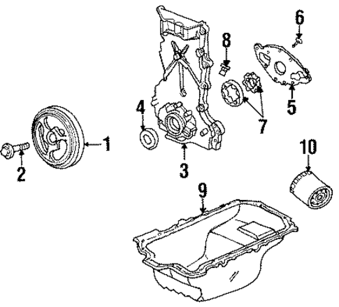 T11028786 Find vacuum hose diagram 1996 toyota moreover Dorman 602 238 Windshield Wiper Linkage Replaces Oe 19120343 Sd17884 in addition Lincoln Ls 2002 Fuse Box Diagram further 7o460 Saturn Sl Series 1998 Saturn 1 9 Need Replace Timing moreover 1996 Saturn Sw2 1 9l Mfi Dohc 4cyl Repair Guides Wiring Diagrams. on saturn sohc engine