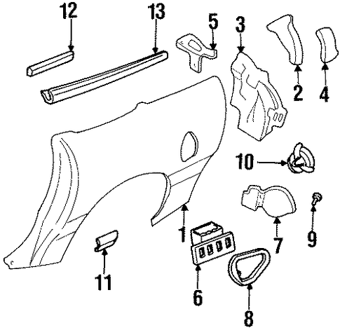 Ford Thunderbird Fuse Diagram