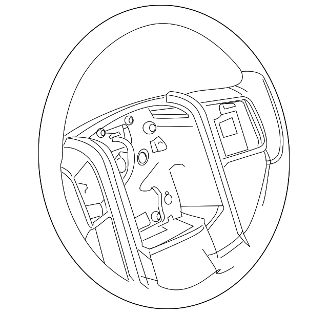 ford steering wheel 3600