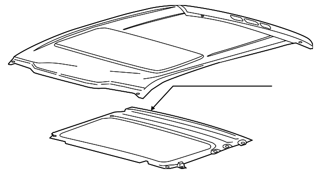 ford f 150 factory sunroof parts