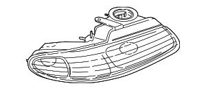 2001-2007 Chrysler Town & Country Headlamp Assy 4857700AC
