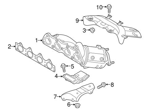 Hyundai Veracruz Parts Diagram