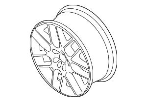 2014 Ford Mustang Wheel  Alloy ER3Z-1007-A