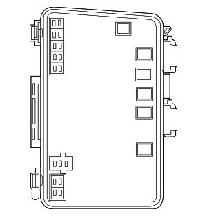 2007 2008 Chrysler Pacifica Distribution Box 5082087AG